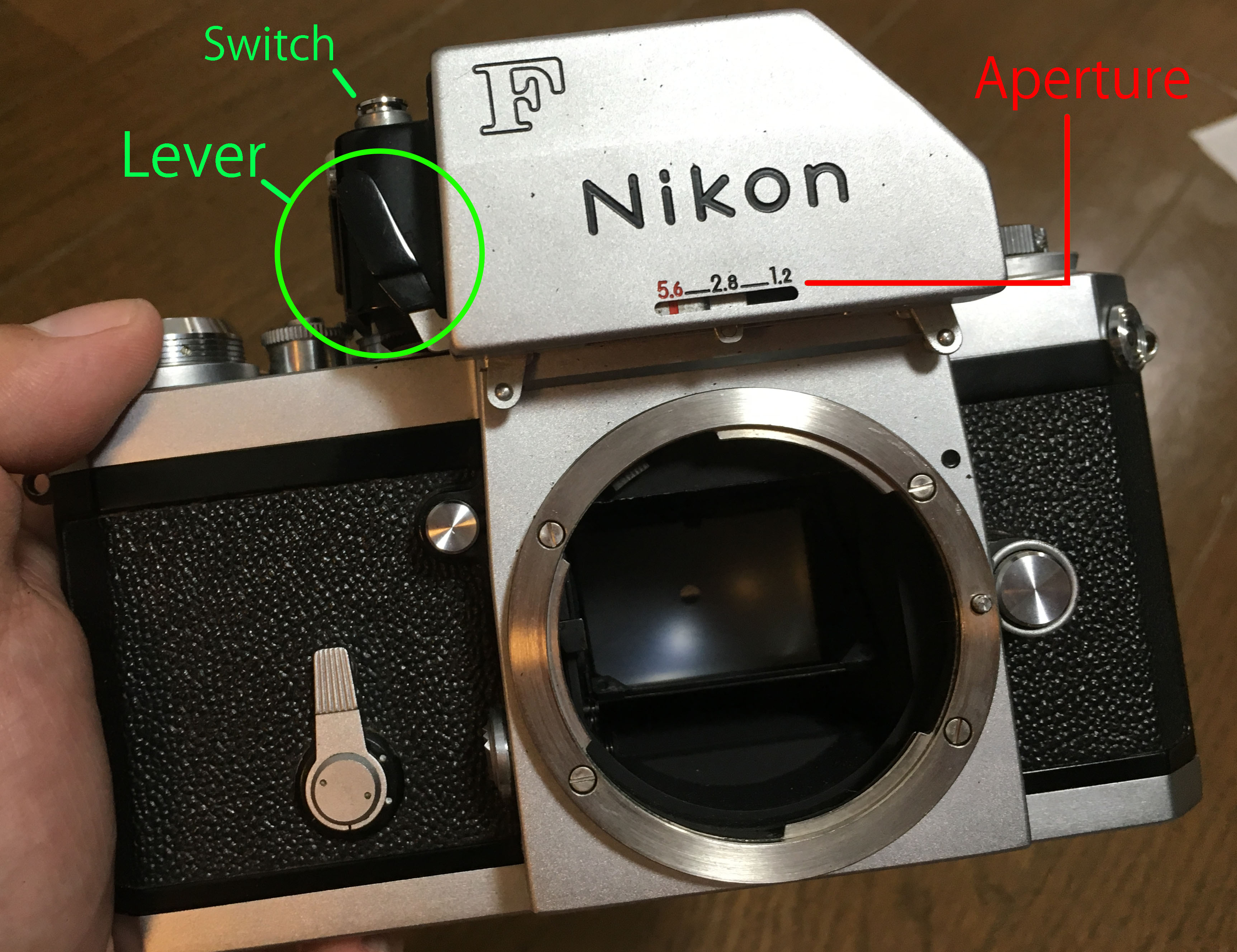 repair nikon f photomic ftn foam richard haw s nikon rh richardhaw com nikon f photomic manuale nikon f photomic instruction manual