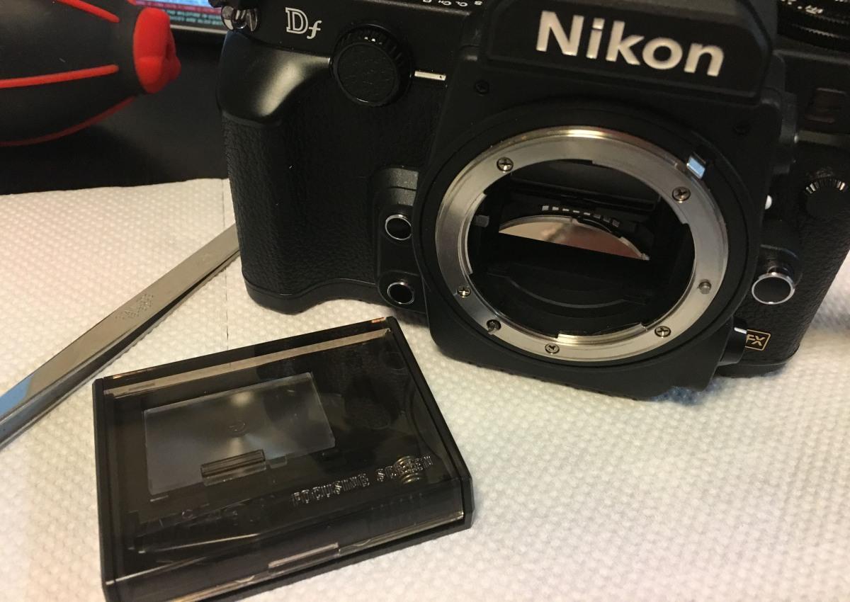 Mod: Nikon Df Split Prism | Richard Haw's Classic Nikon Repair and Review