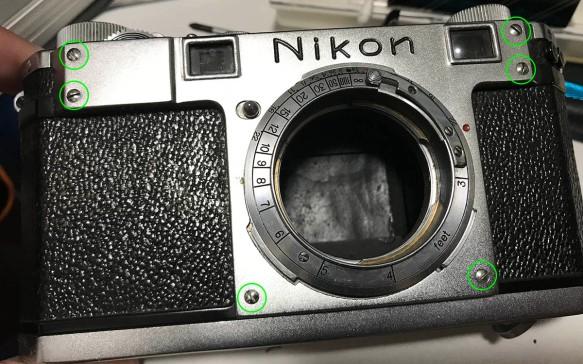 Repair: Nikon S (Part 1) | Richard Haw's Classic Nikon Repair and Review