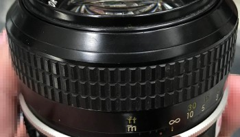 Repair: Nikkor-S 50mm f/1 4 Auto | Richard Haw's Classic