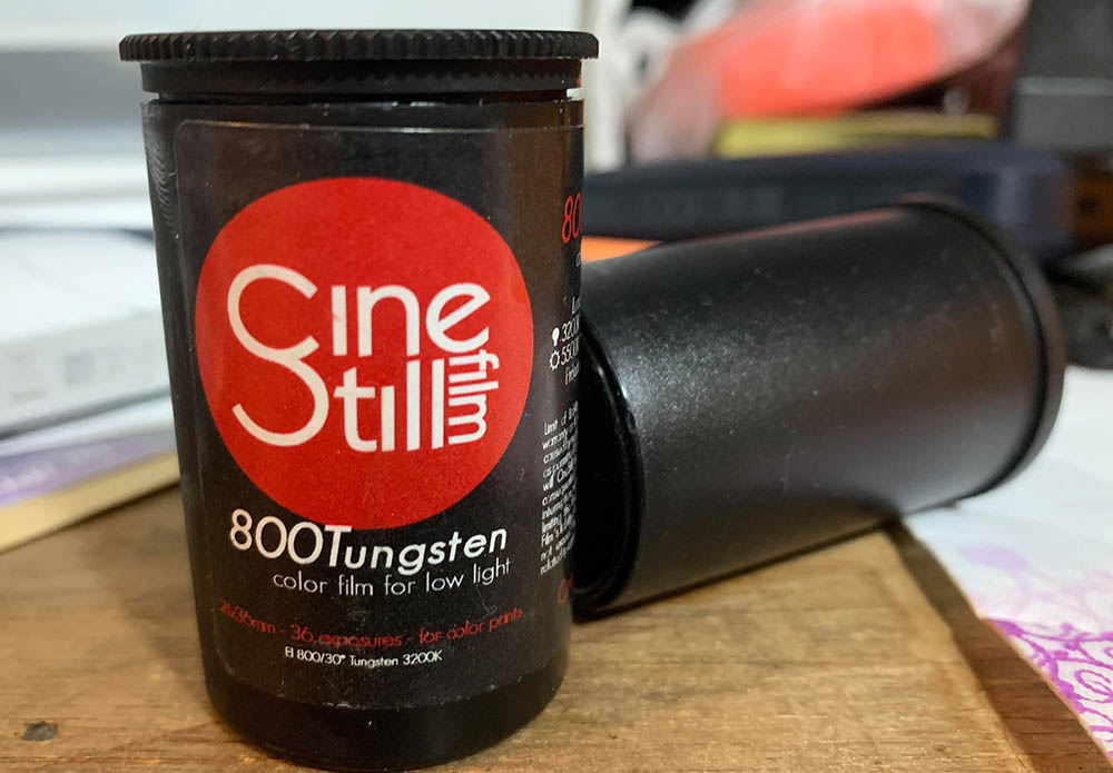 Review: Cinestill 800T | Richard Haw's Classic Nikon Repair
